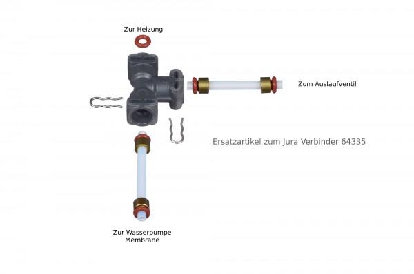 Ersatzartikel zum jura verbinder 64335 an der wasserpumpe s serie