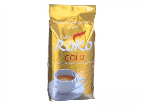 Caffe Roko Gold Espresso Kaffeebohnen 1 kg Packung Bild 1