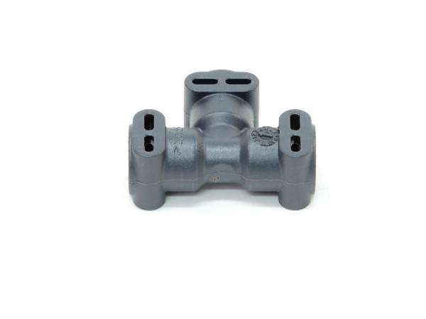 Verbinder T Form für 4mm Druckschläuche