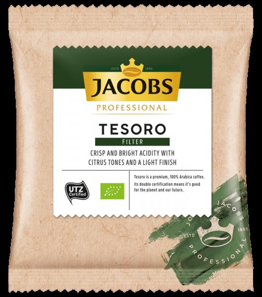 Jacobs Tesoro Kaffee 70g Portionsbeutel