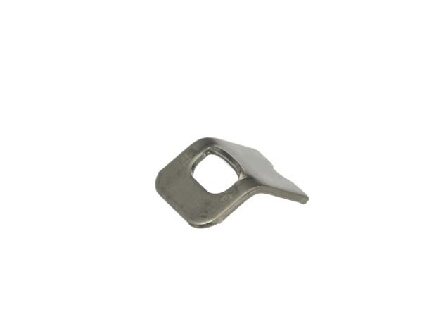 Sicherungsblech für die Klemmfeder am Surpresso Gewebeschlauch Bild 1