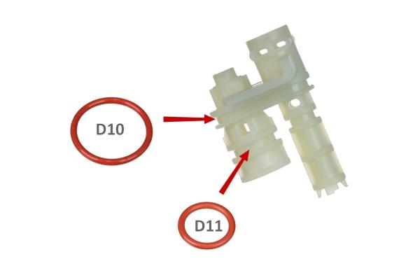 O-Ring D10 aus Dichtungsset Brühkolben ECAM
