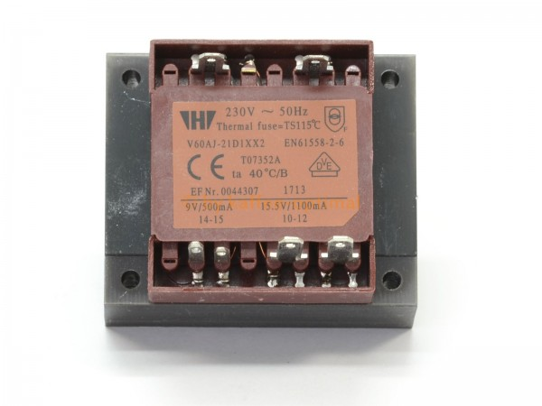 Trafo Transformator 230V passend für Jura Impressa S9 S90 S95 & ENA »