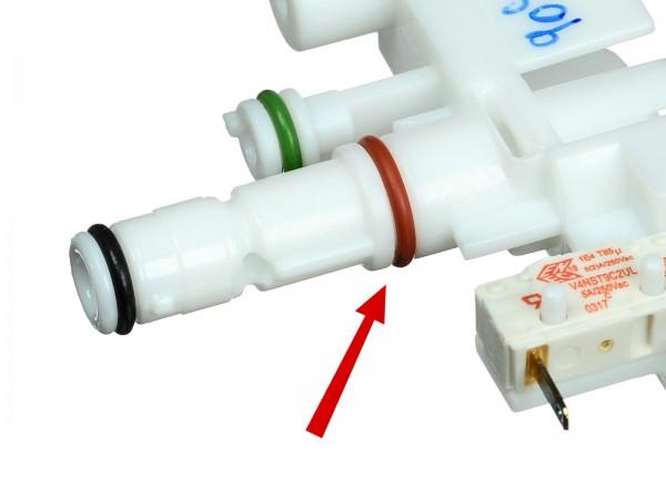 DeLonghi EAM und ESAM O-Ring rot zur Kupplung Bild 1