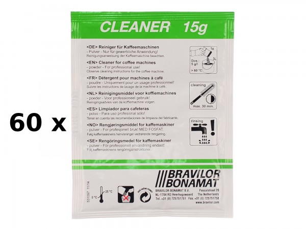 Bonamat Cleaner 1 Umkarton mit 60 Beutel a 15g