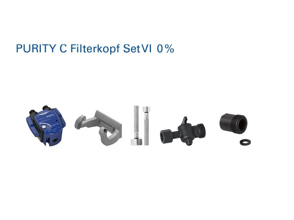 Brita Purity C Filterkopf Set 6