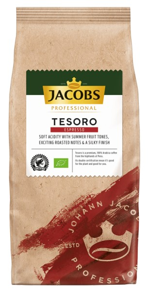 jacobs kaffee tesoro espresso 1000g packung