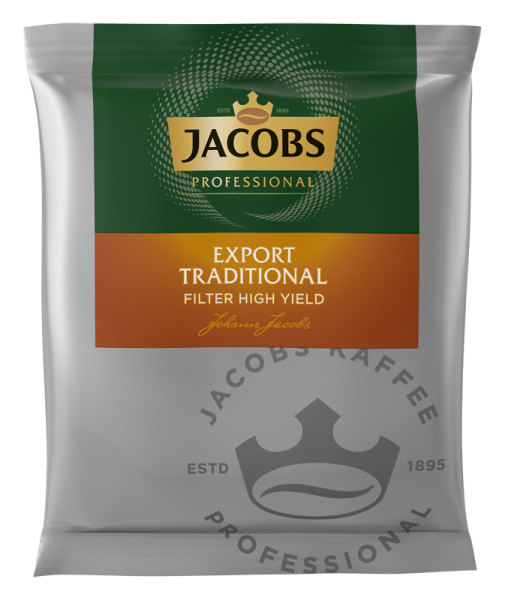 Jacobs Export Traditional HY Kaffee 55g Portionsbeutel