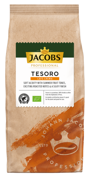 jacobs kaffee tesoro caffe crema 1000g packung