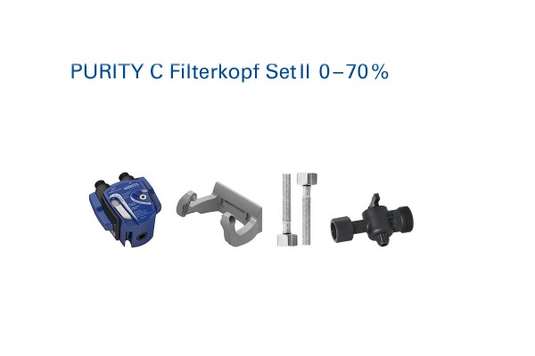 Brita Purity C Filterkopf Set 2