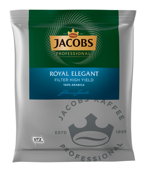 Jacobs Royal Elegant HY Kaffee 60g Portionsbeutel