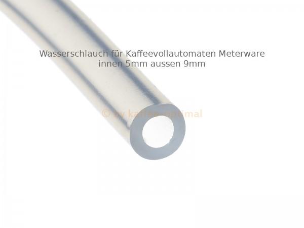 silikonschlauch wasserschlauch 5x2mm passend fuer Kaffeevollautomaten meterware